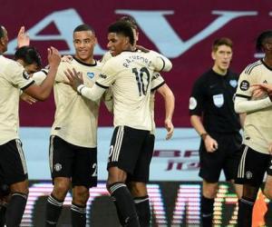 英超-B费传射博格巴进球 曼联3-0客胜距前四1分