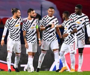 欧冠-拉什福德绝杀B费点射 曼联2-1客场击败巴黎